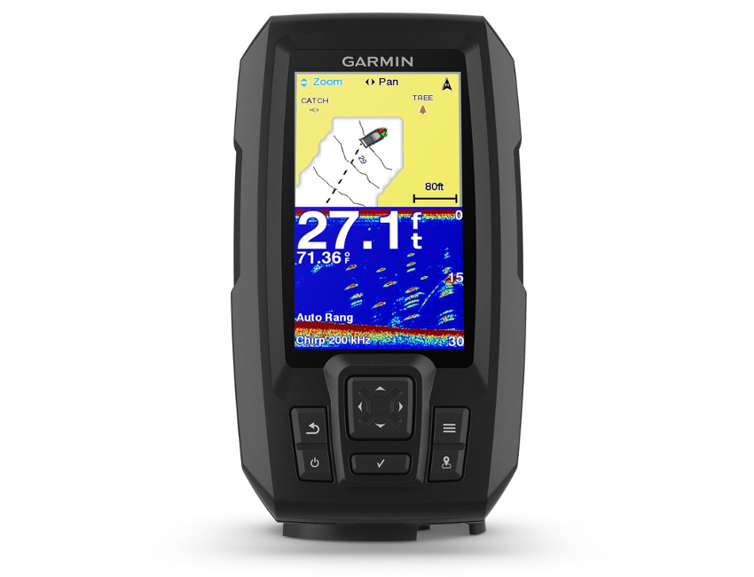 echosonda Garmin STRIKER Plus 4cv, GPS, batymetria