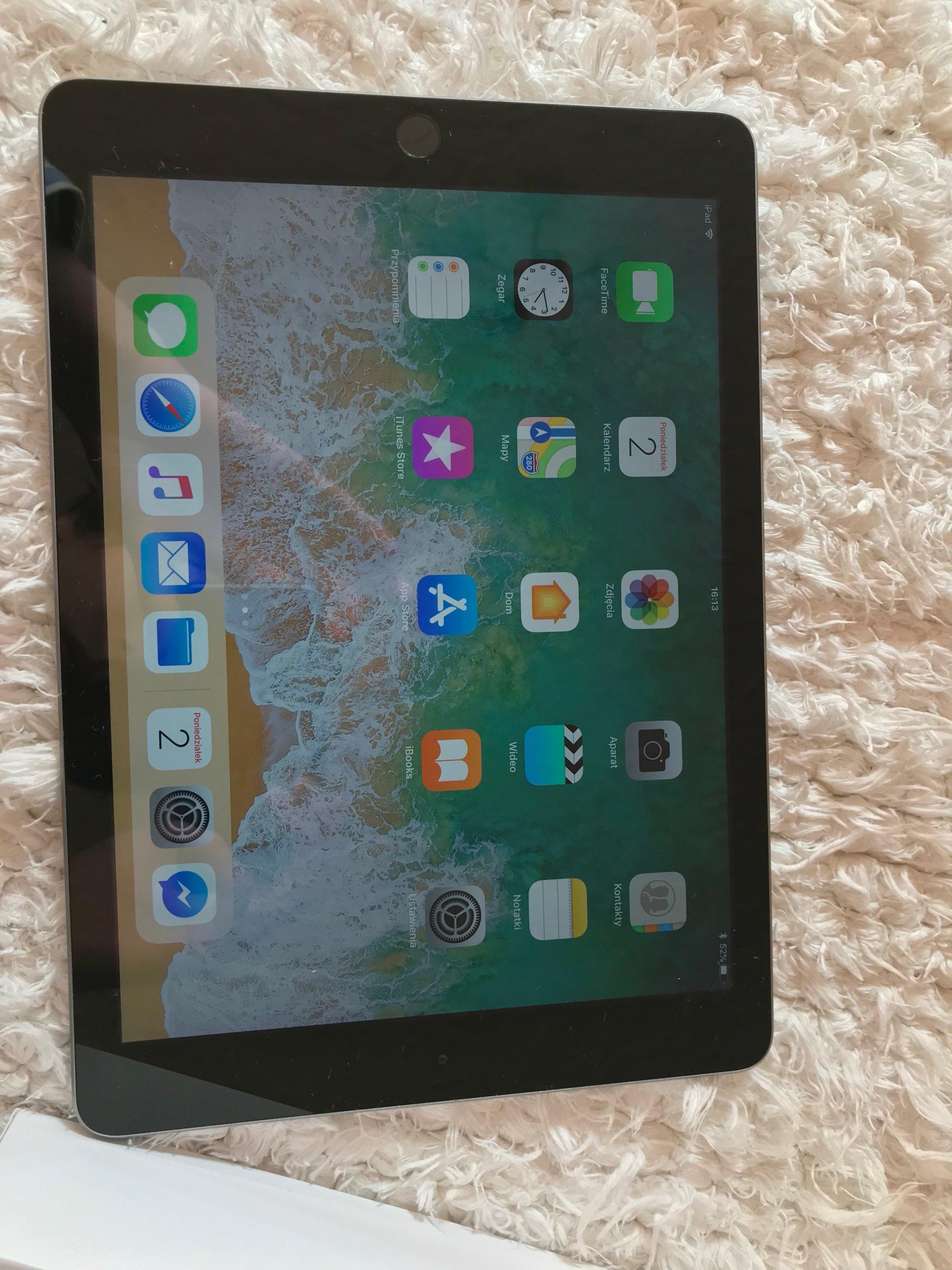 Jak nowy !!! Prosto od Apple!!! iPad 2017 Okazja!