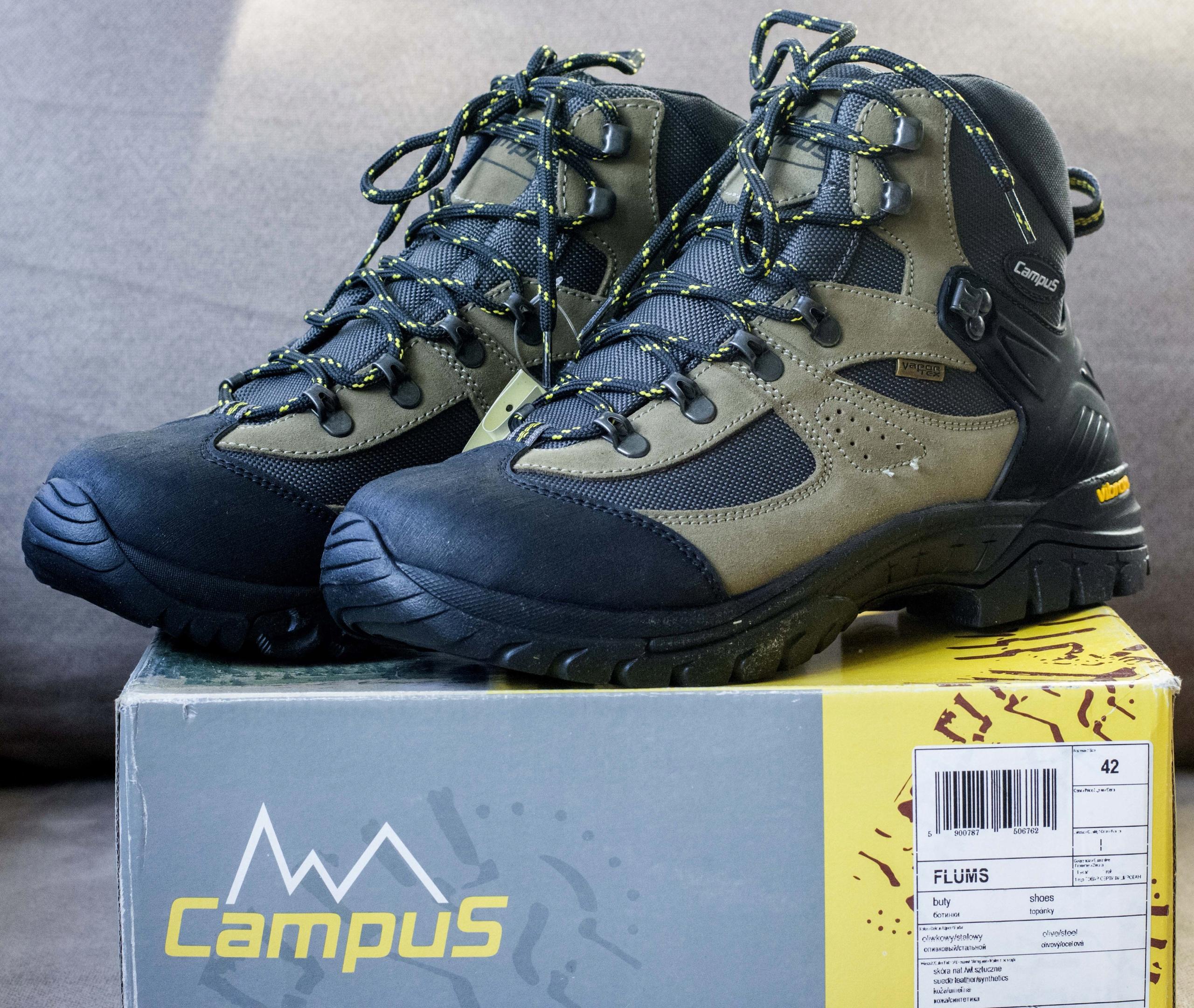 afbc2884804925 Buty trekkingowe męskie wysokie Campus FLUMS r.42 - 7679755178 ...