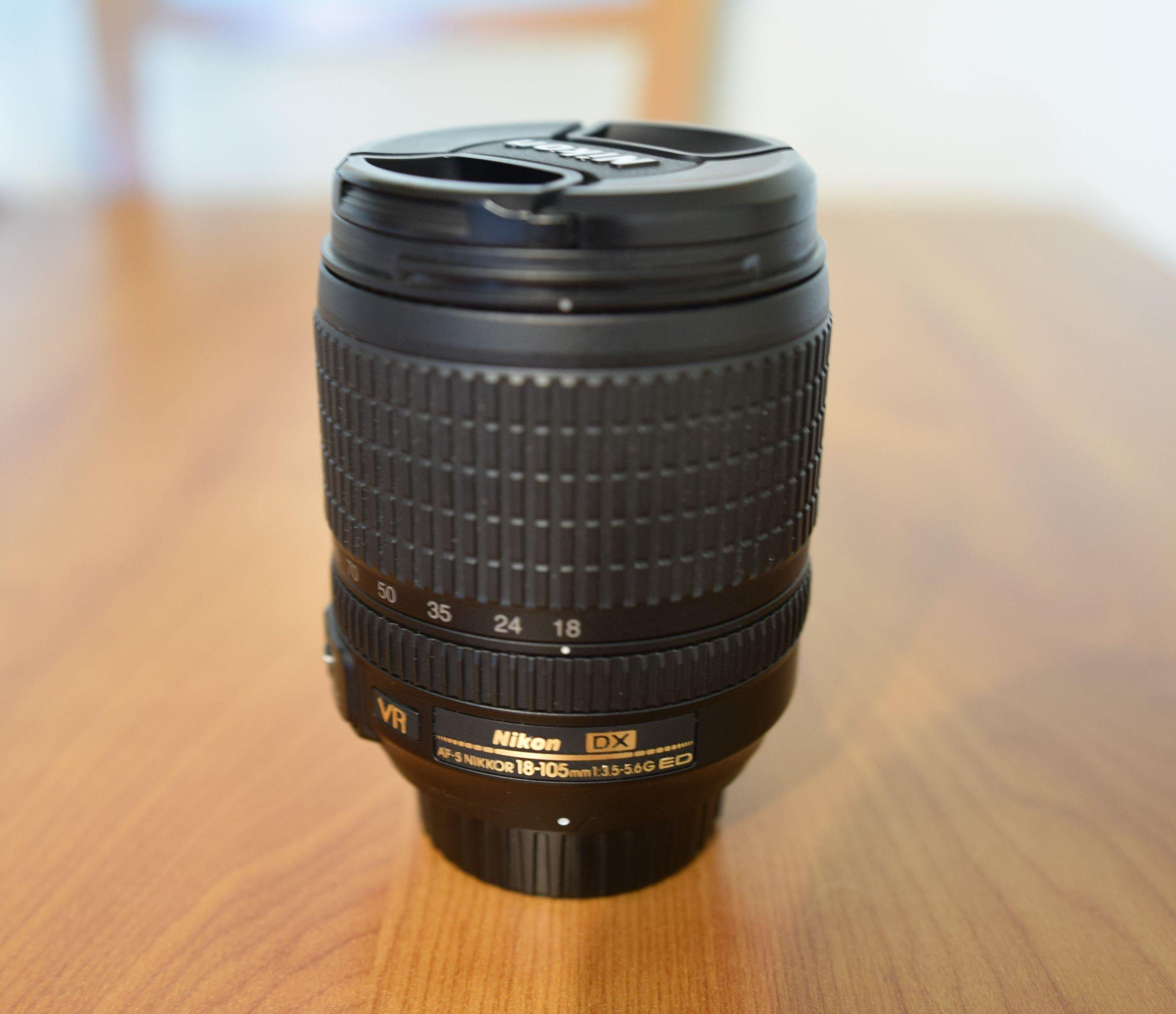 Obiektyw Nikkor Af S Dx 18 105 Mm G Ed Vr Nikon 7372334991 55 300mm F 45 56g