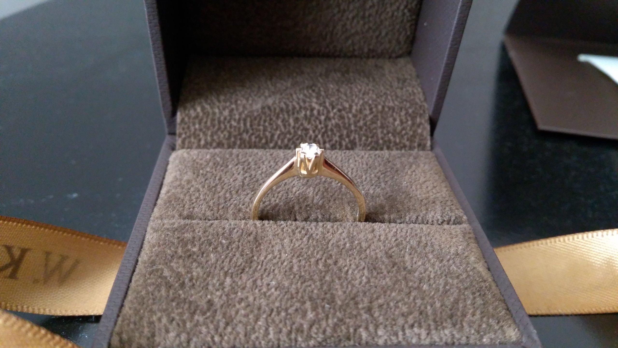 Pierścionek Zaręczynowy Wkruk Jedyny 12 015ct 7238165441