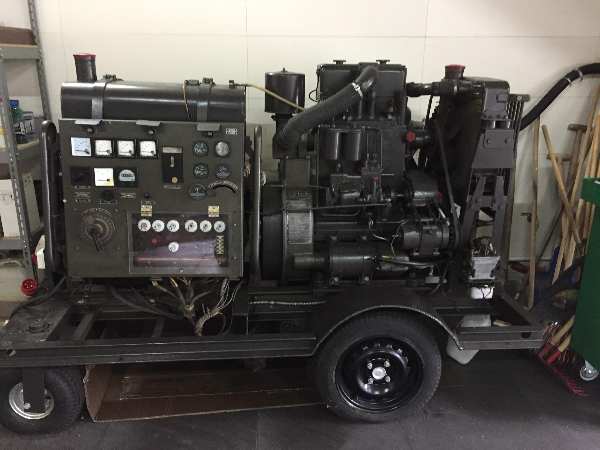 Ogromny Wojskowy Agregat Prądotwórczy 25 kW - 7161101082 - oficjalne RB14
