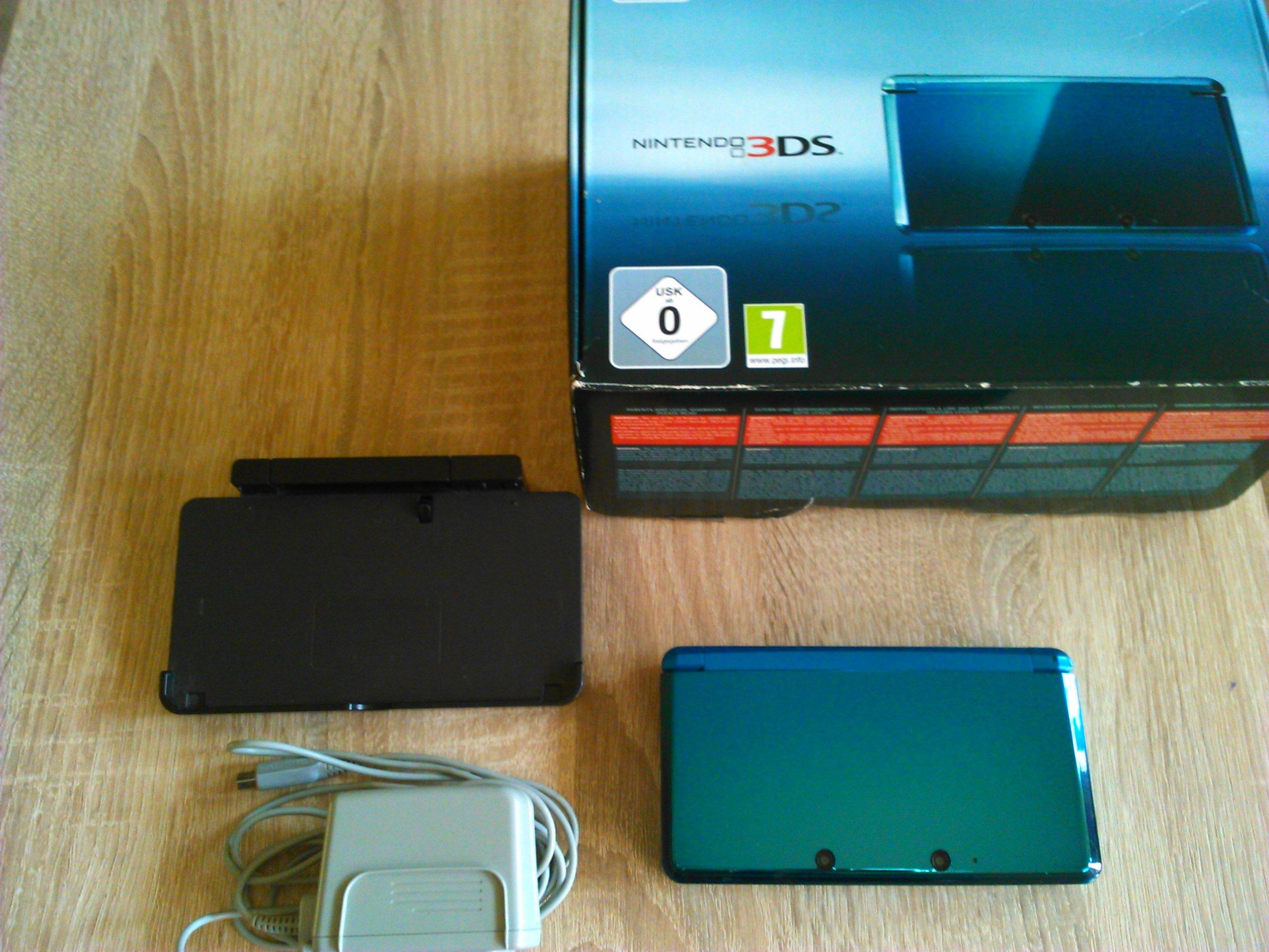 NINTENDO 3DS  Luma CFW + Karta 32 GB - GRY
