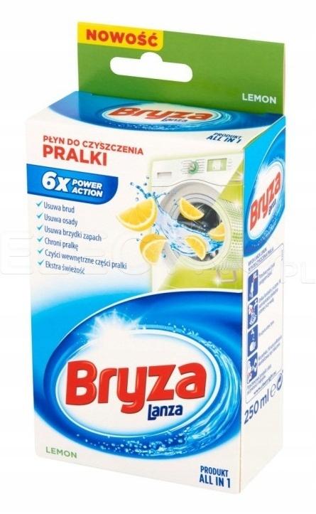 Bryza-Lanza Lemon płyn do czyszczenia pralki 250 m
