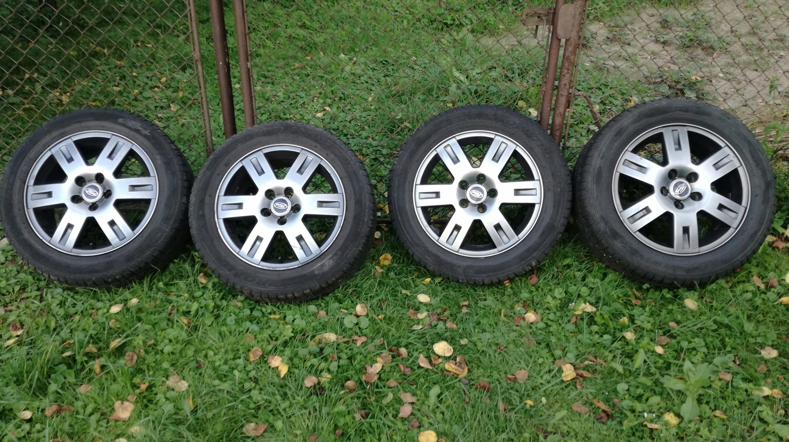 Ford Mondeo Mk3 Koła Aluminiowe Opony Zimowe 7543846373