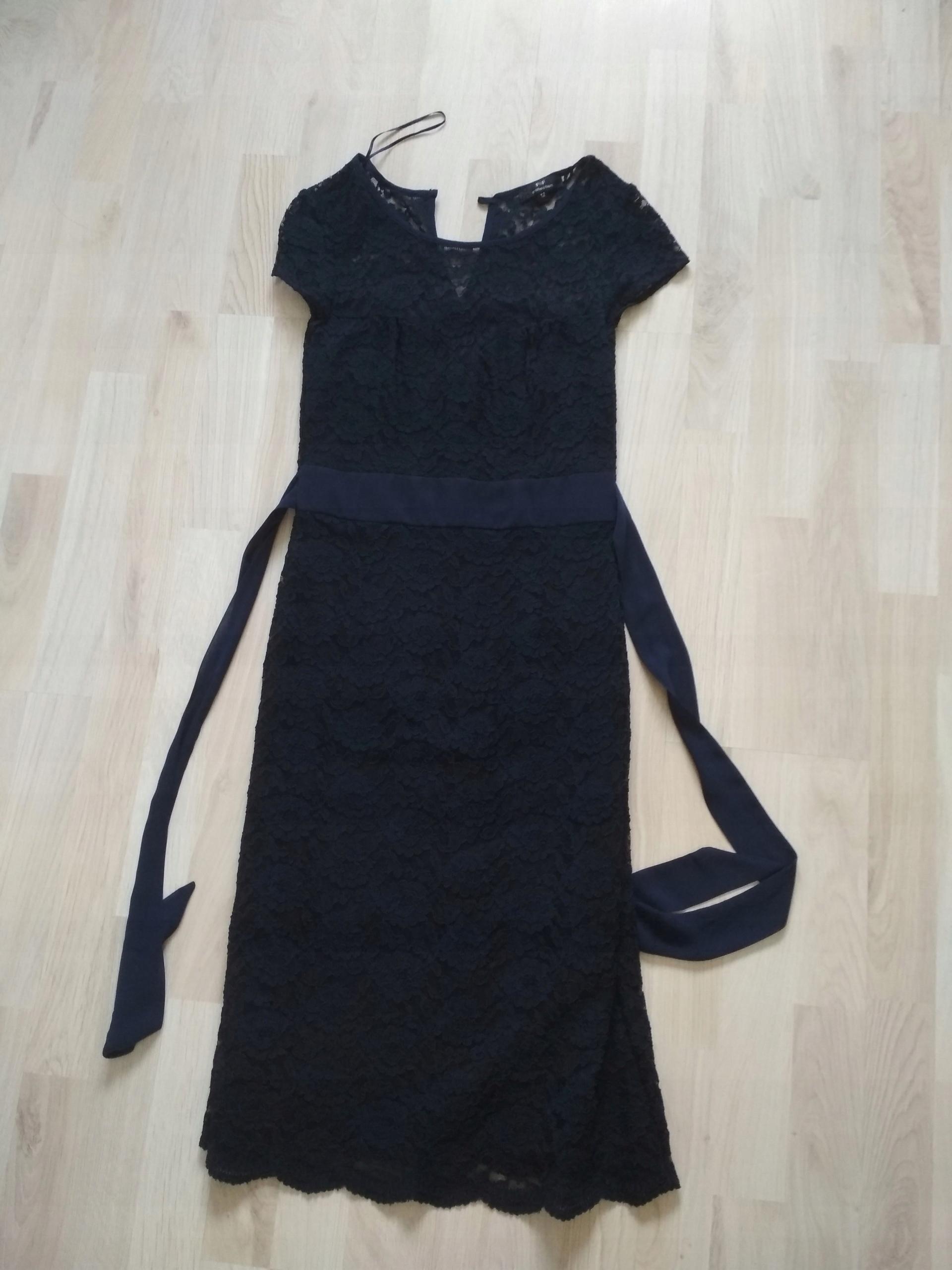 290d2babf5 Sukienka koronkowa f f r. 38 - 7548218761 - oficjalne archiwum allegro