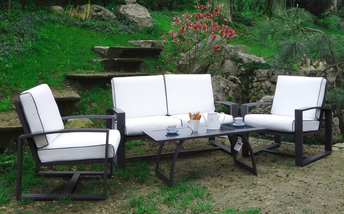 Stół 2 Fotele Sofa Wygodne Meble Ogrodowe 7275703960