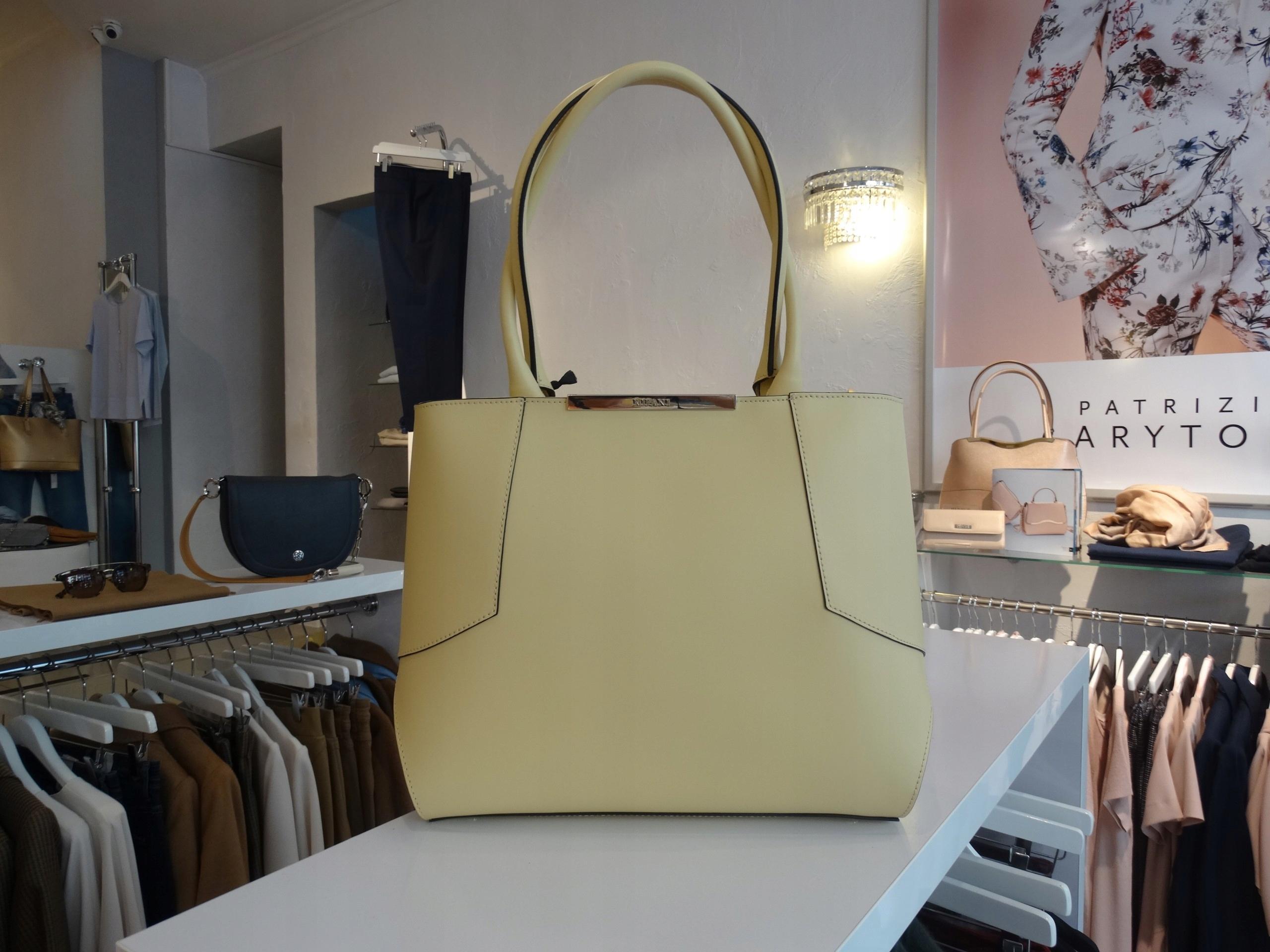 463d836fb70fb Torebka Ripani żółta piękna nowa kolekcja OKAZJA - 7436778776 ...