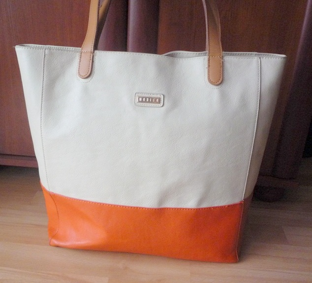 ac0c4c17d8c7c MOHITO beżowy shopper bag zara NUDE reserved HM - 7294009520 ...