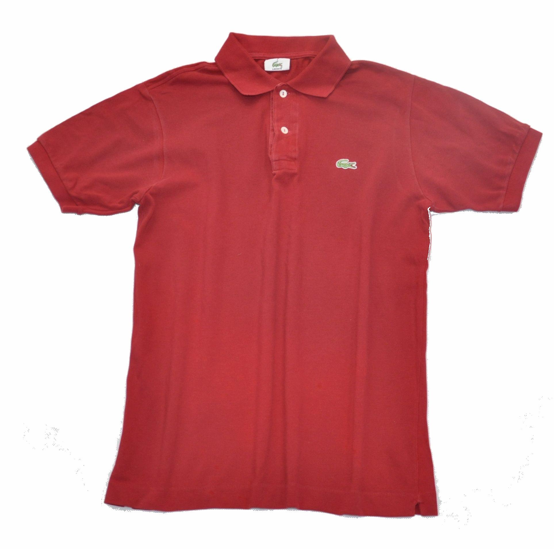 e01d15002 LACOSTE Bluzka koszulka polo czerwona męska 3 jakM ...