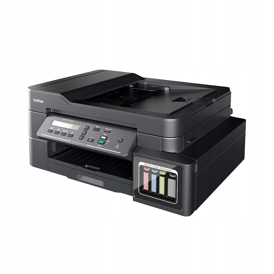 Drukarka MFP DCP-T710W RTS A4/USB/WiFi/ADF20/27ppm