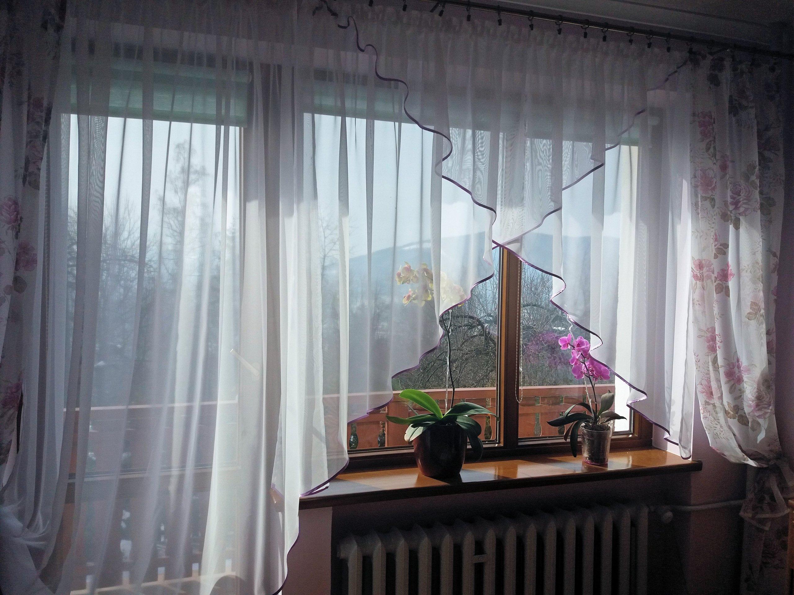 Niesamowite Firanka Na Okno Balkonowe Wr92 Getclopa