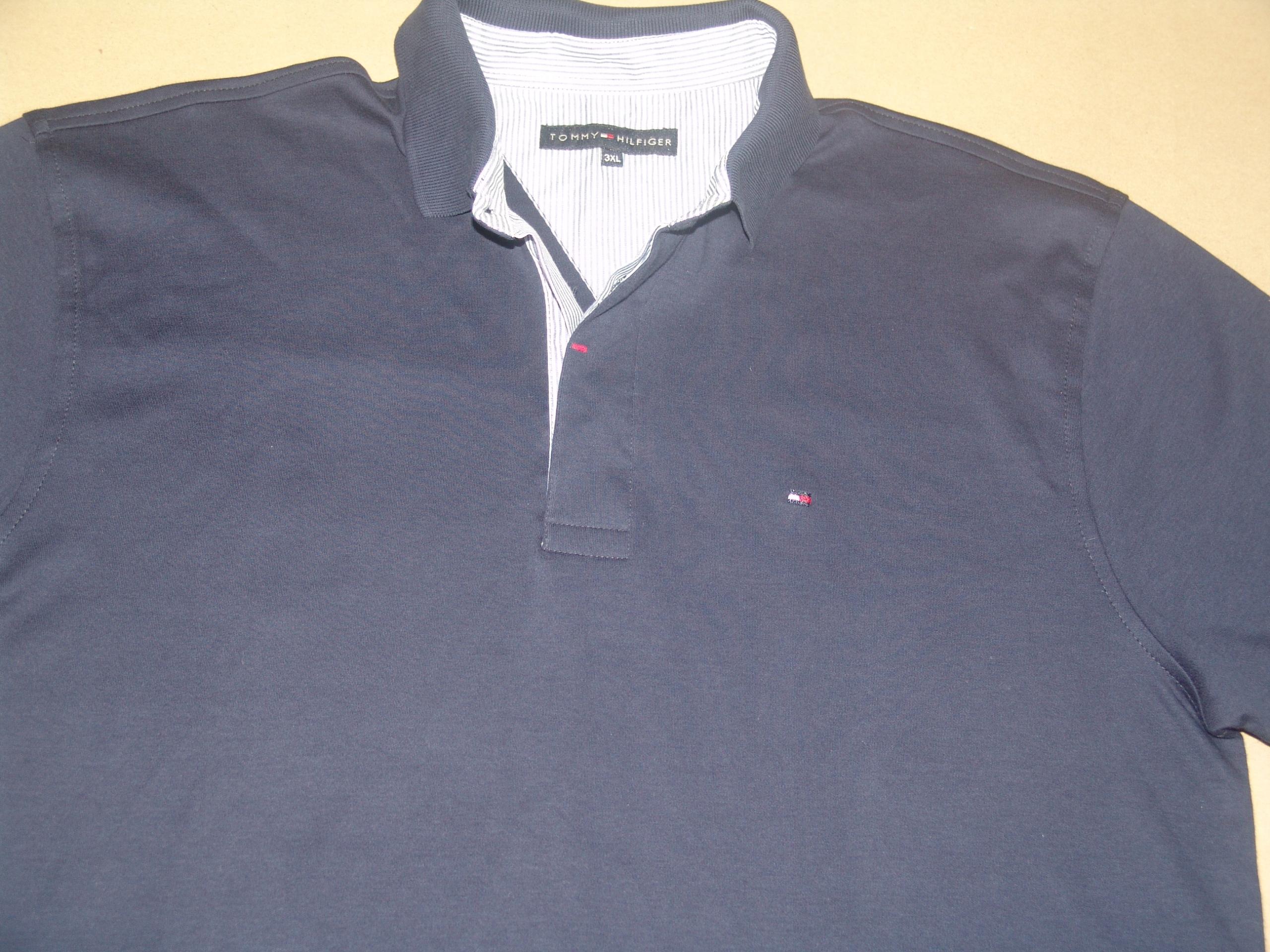 6ef99cc2e1123 Tanio,jak nowa,koszulka polo TOMMY HILFIGER r.3 XL - 7452428482 ...