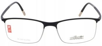 Oprawki okulary TYTANOWE czarne brązowe SILHOUETTE Zdjęcie
