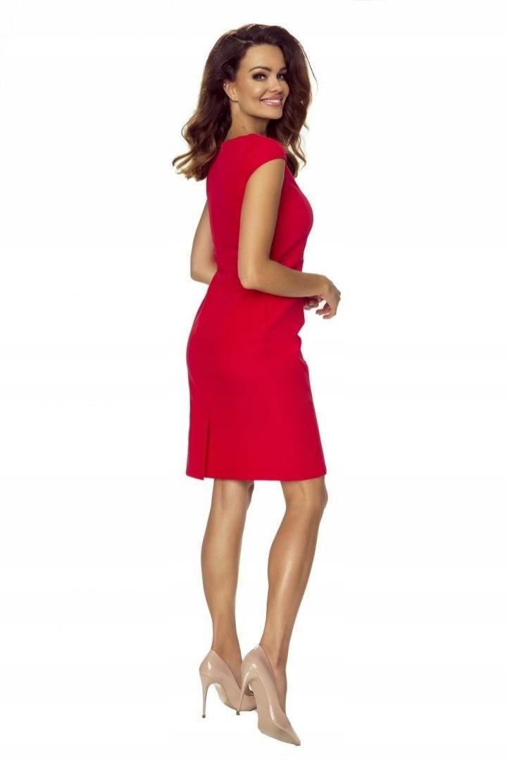edaf6668812173 102-01 Lara- elegancka sukienka, podkreślająca fig - 7573914914 ...