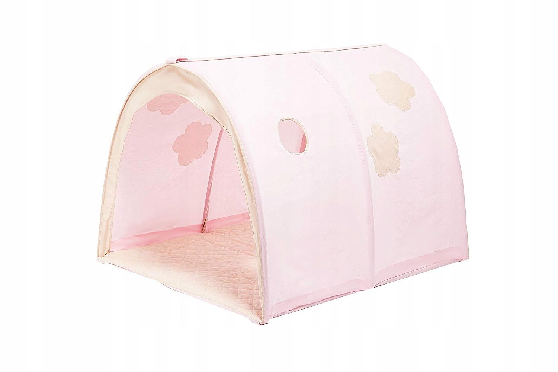 Różowy Tunel Do łóżka Piętrowego