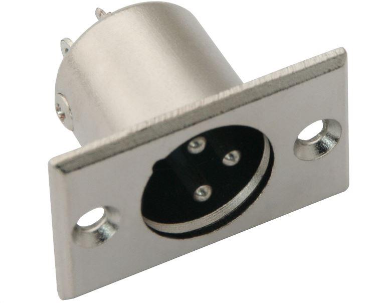 Wtyk XLR do montażu w obudowie /3000