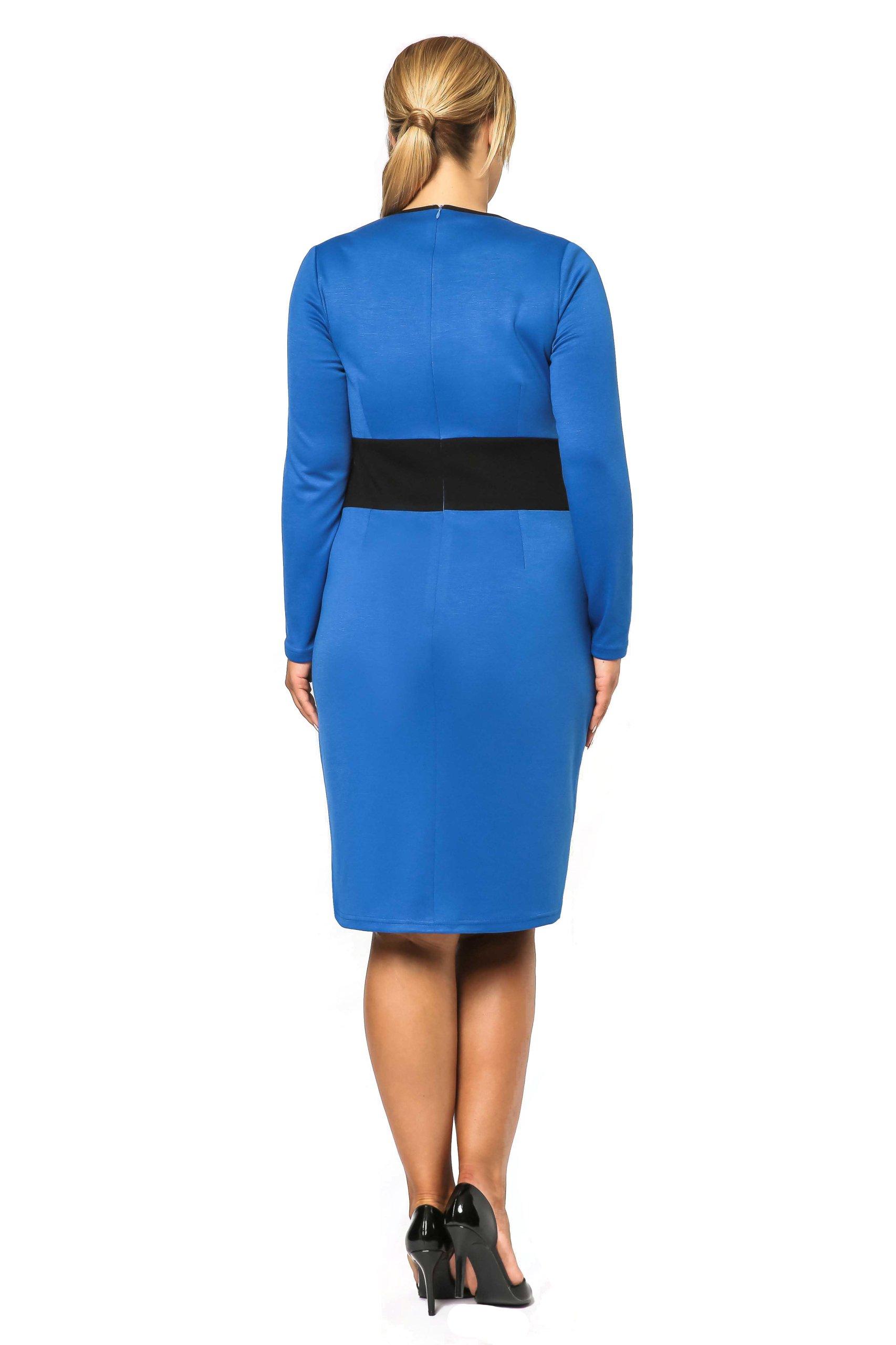 c94139a349 Sukienka z długim rękawem duże rozmiary 48 4XL - 7079915034 ...