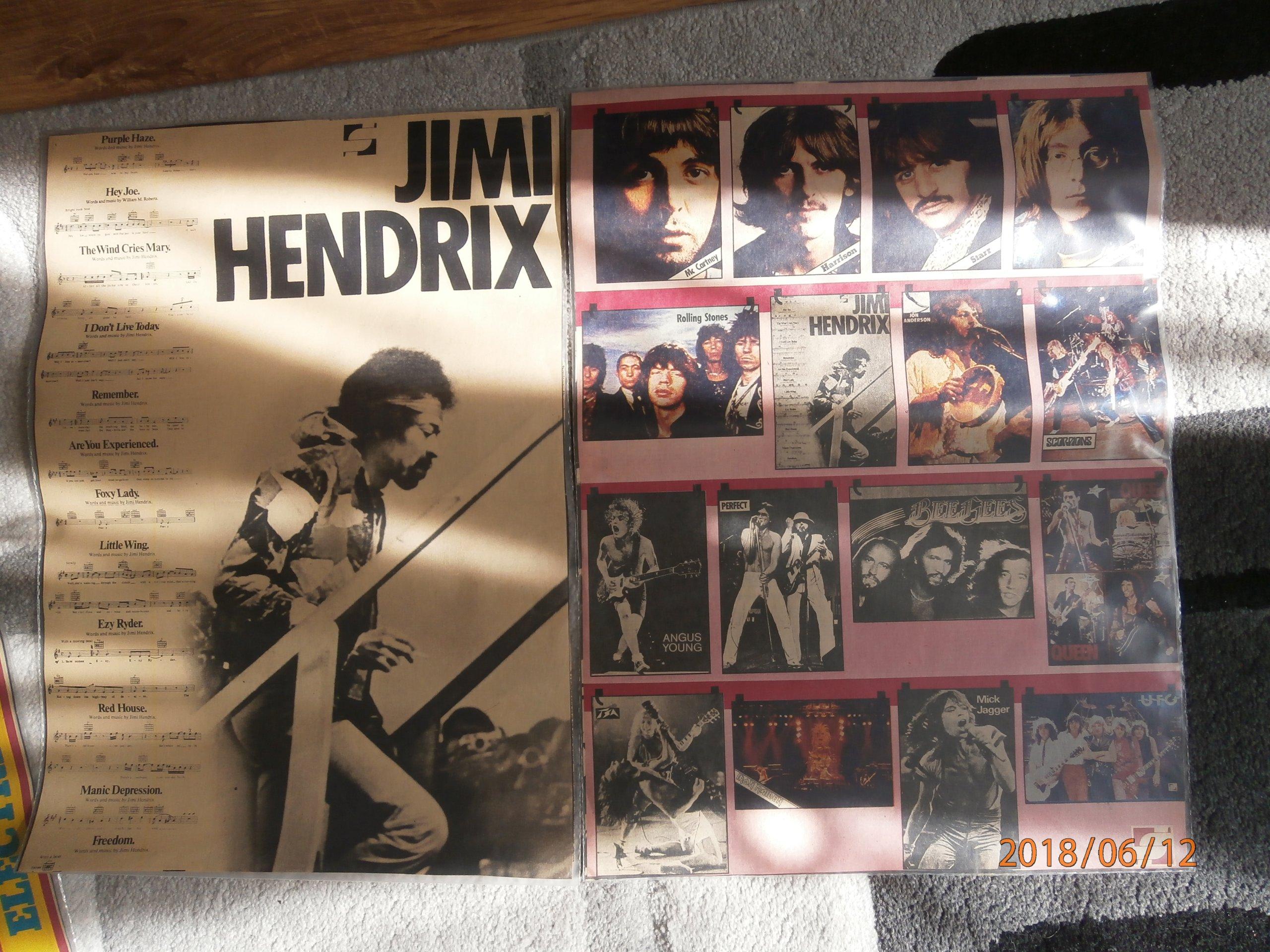 Plakaty Lata 80 Rock Pop Disco Unikaty Razem 7433761910