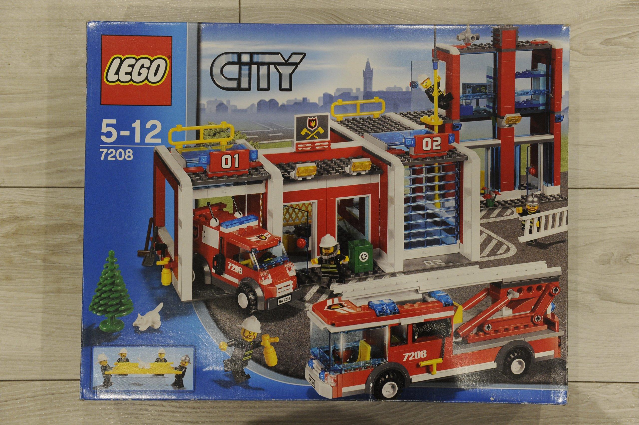 Nowy Unikat Lego City 7208 Straż Pożarna 7110119720