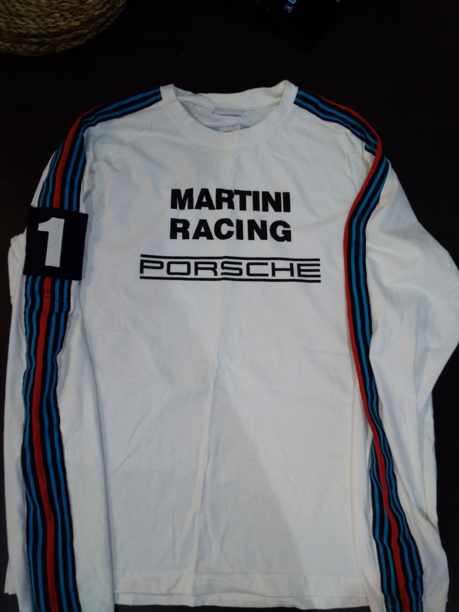 Martini Racing Porsche ORYGINAŁ long sleeve roz.XL