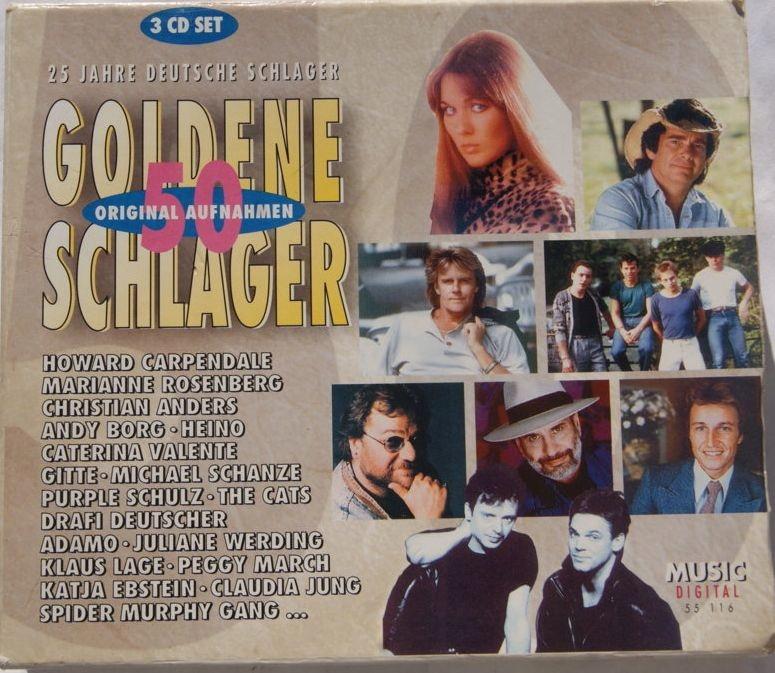 25 JAHRE DEUTSCHE SCHLAGER - GOLDENE SCHLAGER 3CD
