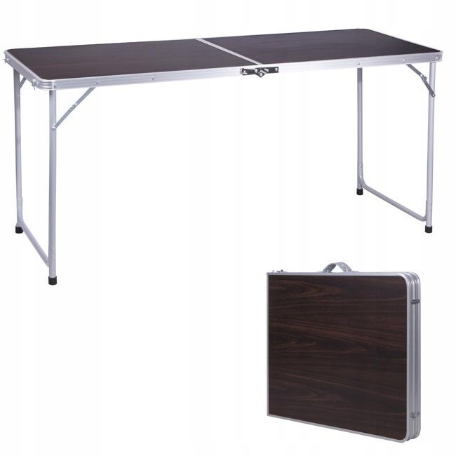 Stół Składany Stolik Turystyczny Piknikowy 150x60