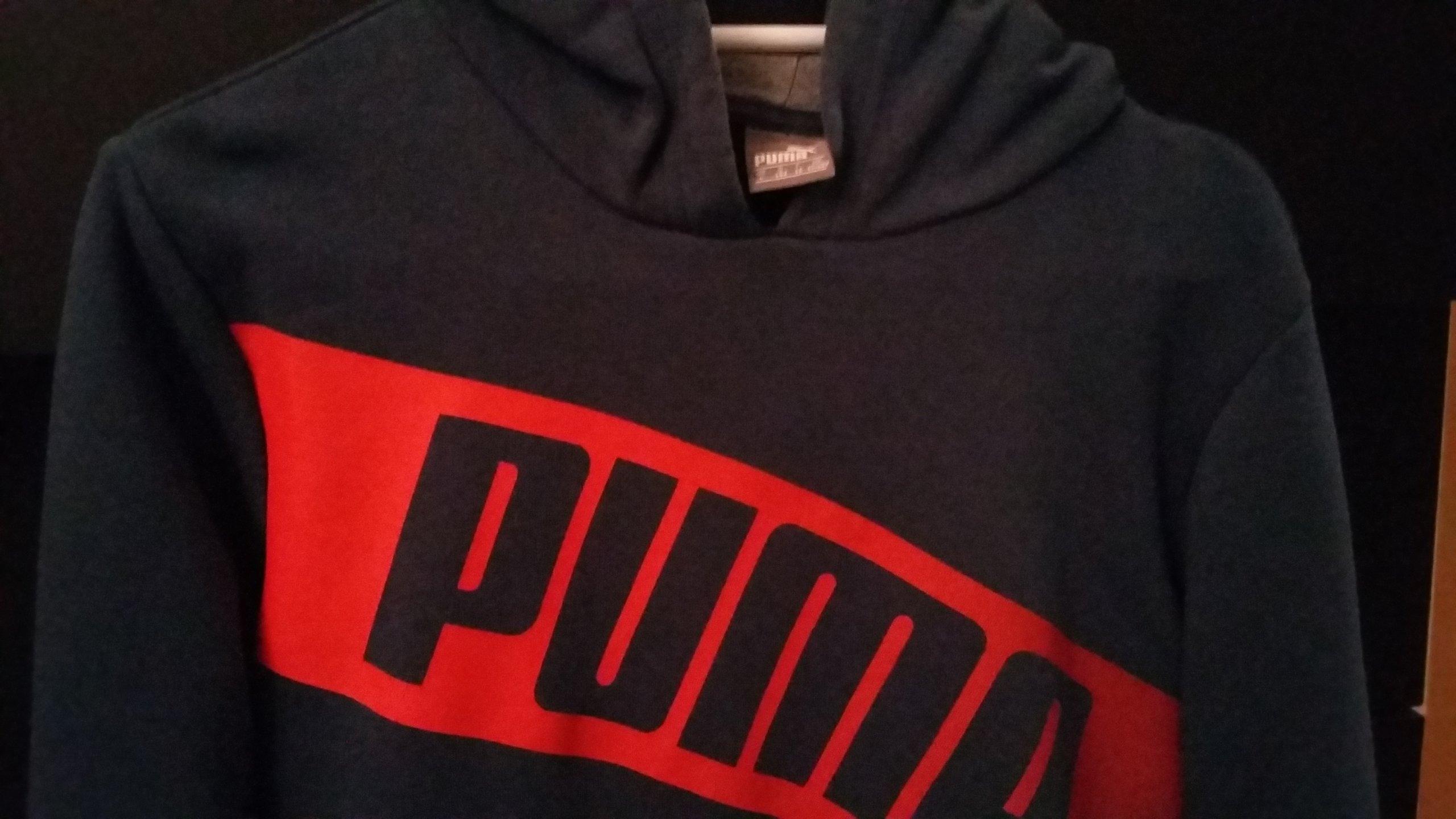 świetne oferty kod promocyjny nowe wydanie Bawełniana bluza Puma r.152 dla chłopca