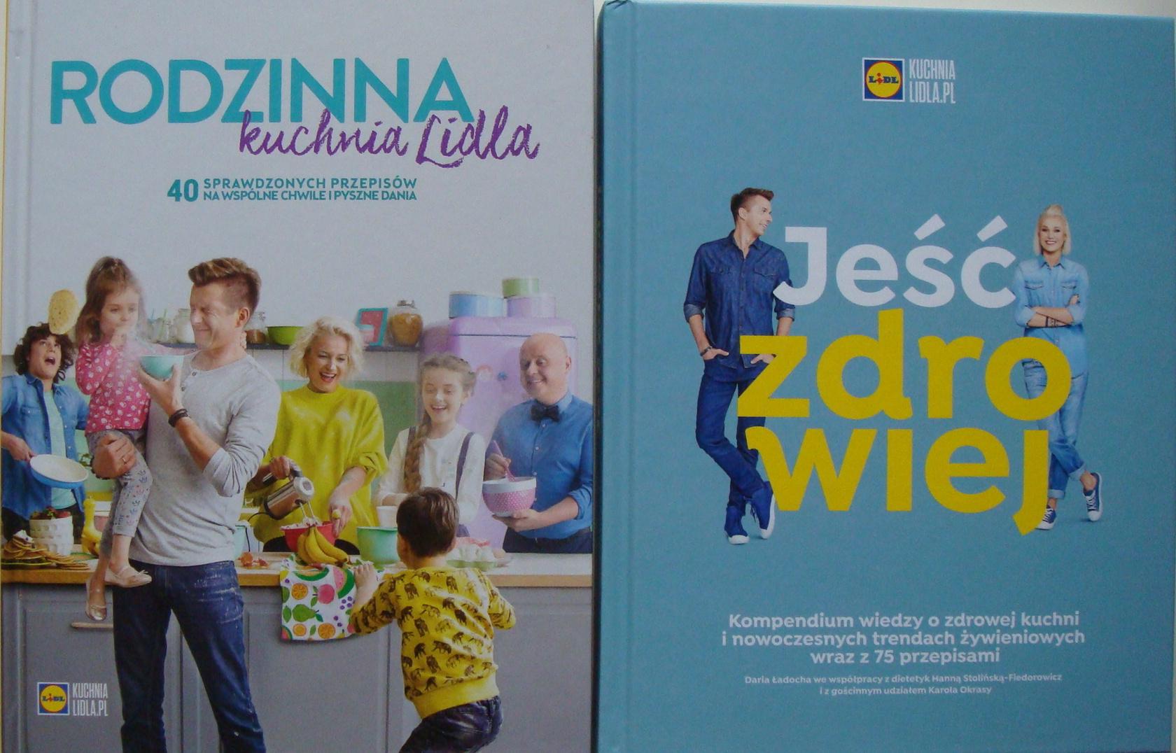 Jeść Zdrowiej Rodzinna Kuchnia Lidla Zestaw 2x 7303317780