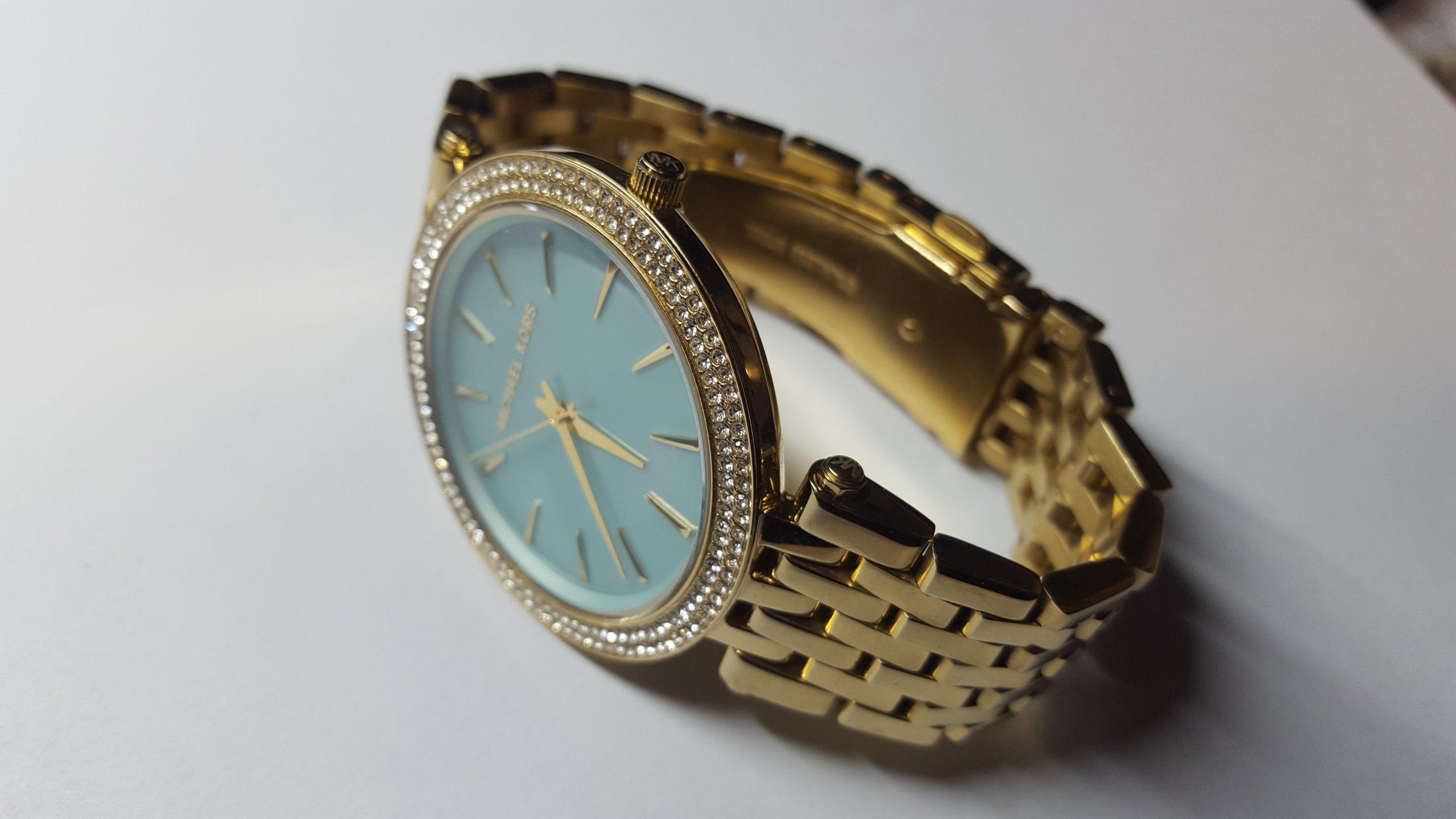 442eaafc31dbe Elegancki zegarek Michael Kors MK3498 Darci Quartz - 7245593146 ...