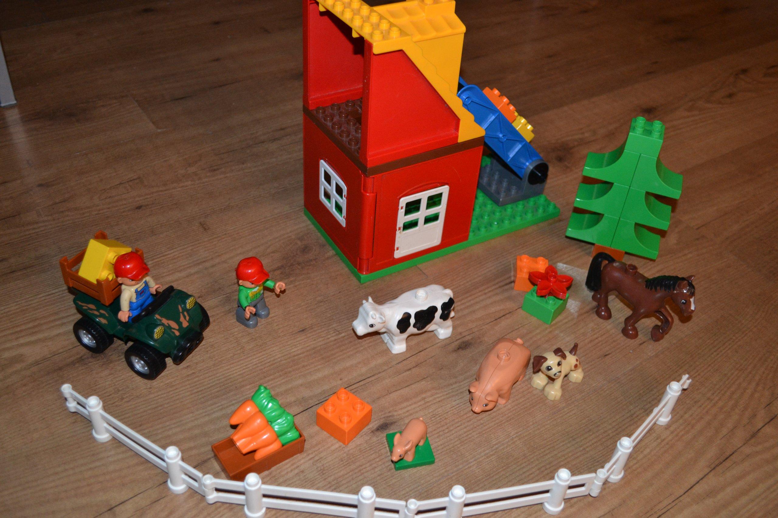 Lego Duplo Wielka Farma 4975 Wies Wroclaw 7081566491 Oficjalne