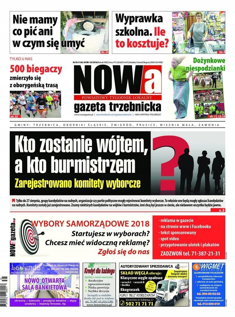 Nowa Gazeta Trzebnicka 352018 Eprasapdf 7652668725