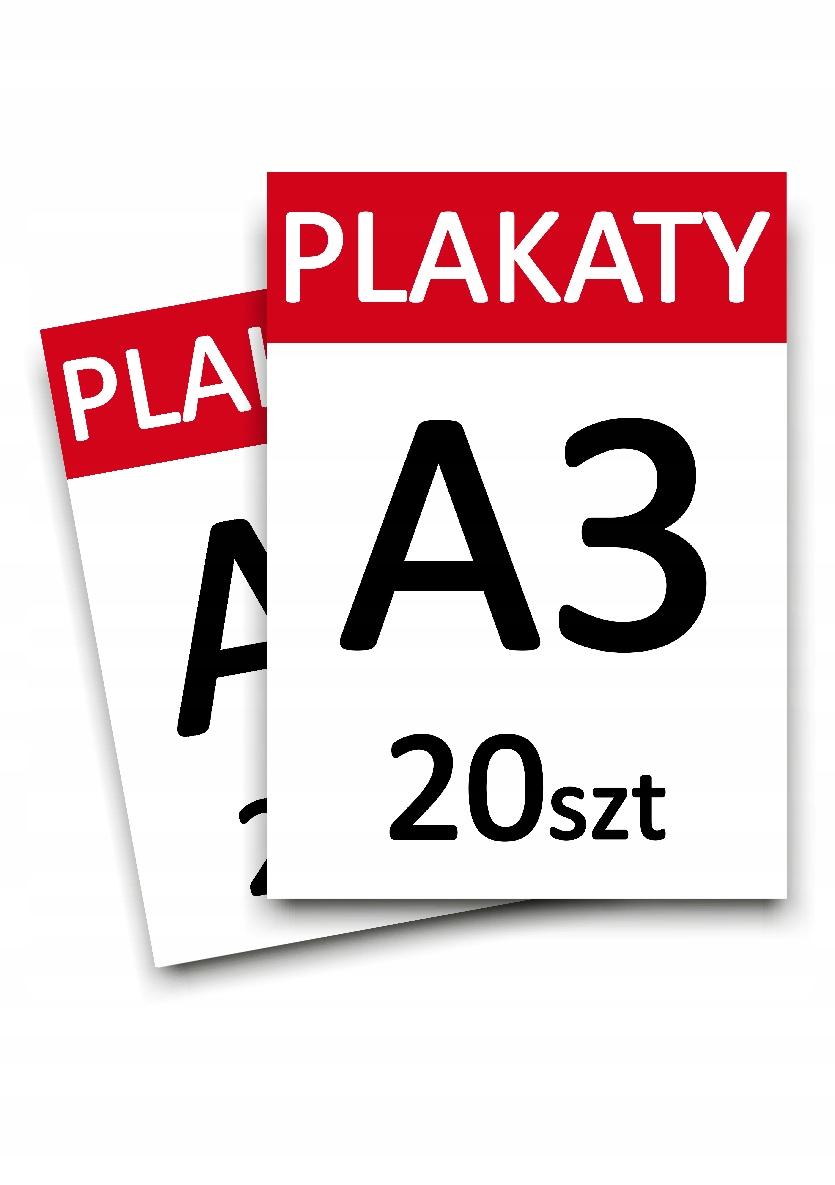 Plakaty A3 20 szt. jednostronne - WYBORY EXPRESS