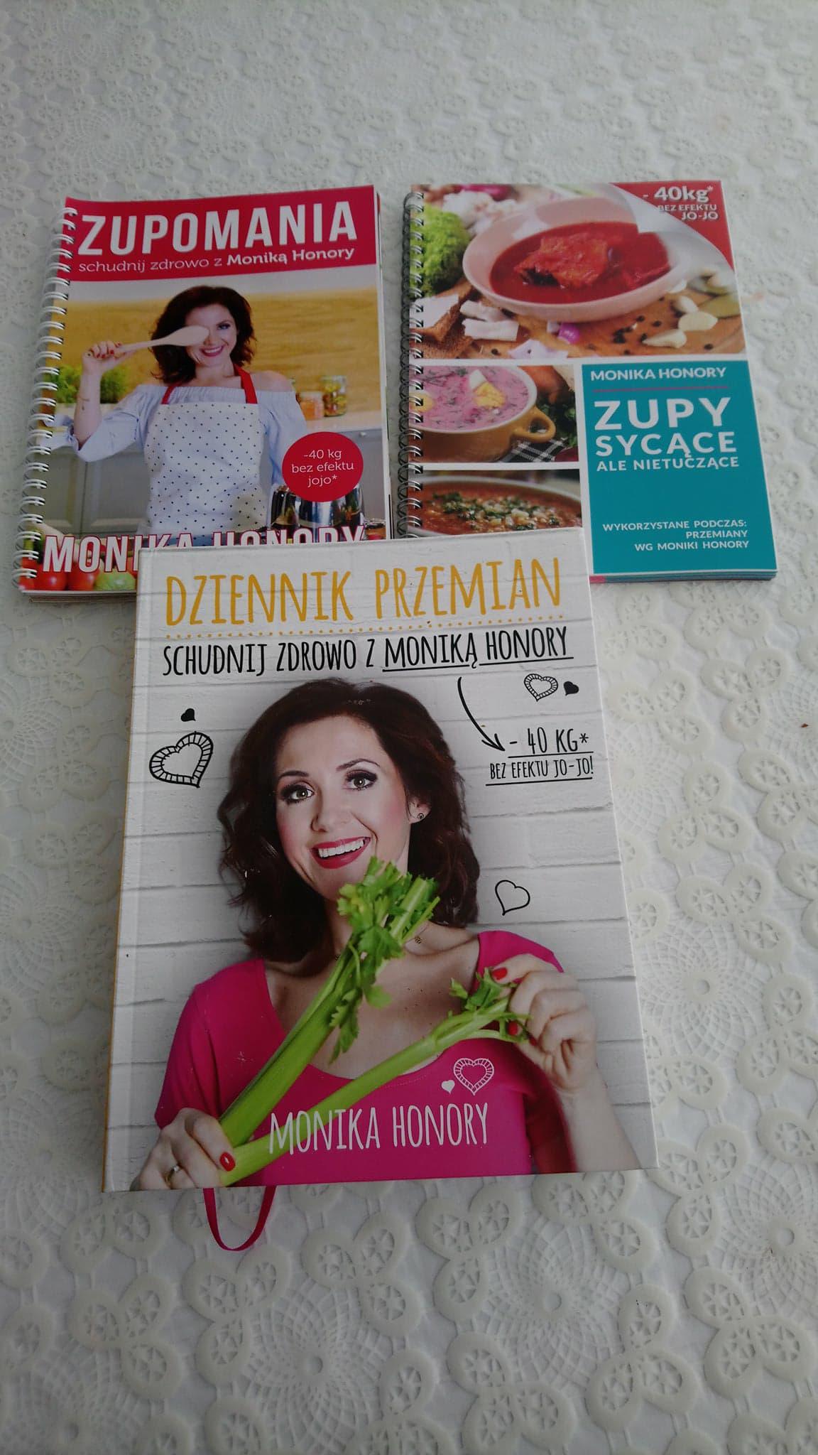 Monika Honory 3 Ksiazki Zupomania Zupy Sycace 7248113402