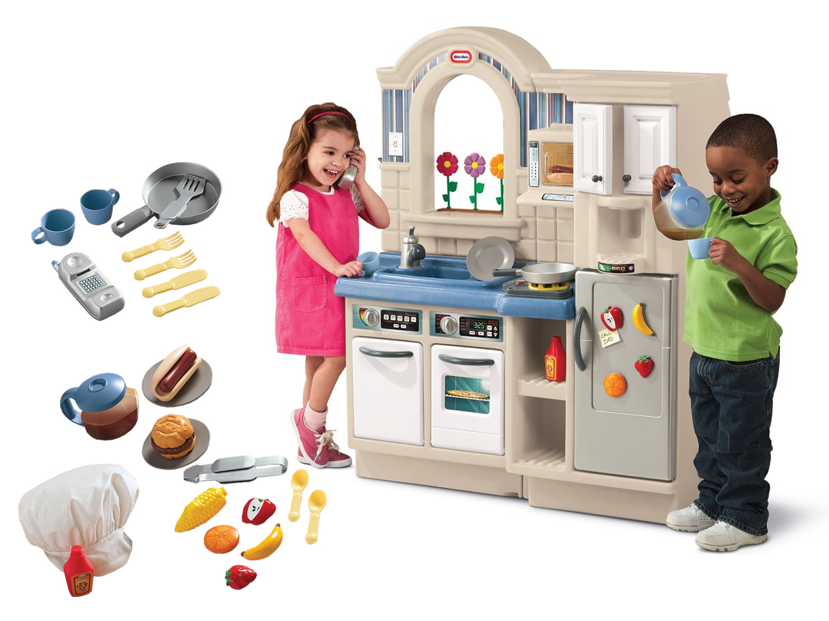 Kuchnia Z Grillem Little Tikes Z Akcesoriami 450b