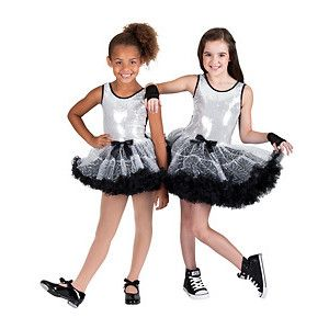 a6482209 sukienka taniec DISCO CEKINY TUTU SK725 140cm - 6999357849 ...