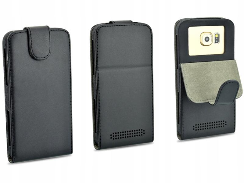 Etui czarne do telefonu Huawei Ascend G620S