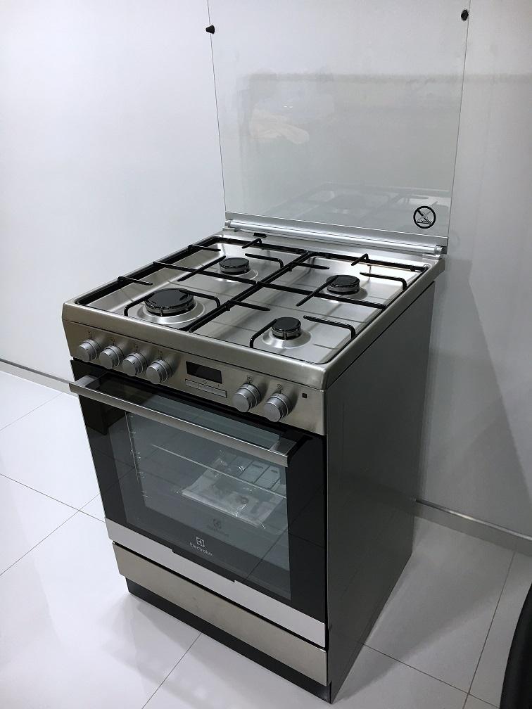 Kuchnia Gazowo Elektryczna Electrolux Ekk6450aox 7435884256