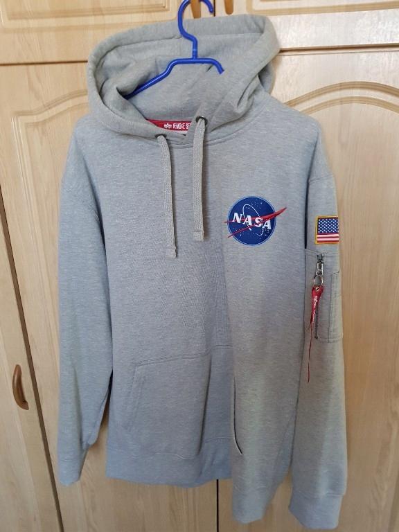 jakość moda kody promocyjne Bluza Alpha Industries NASA Space Shuttle Hoody