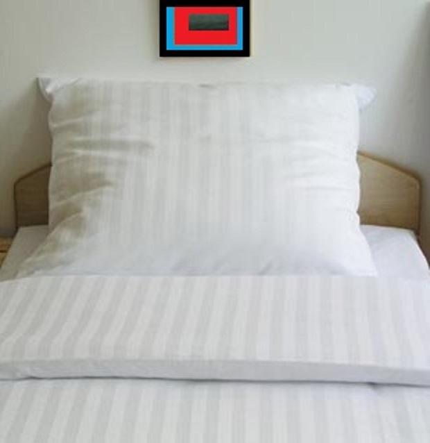 Poszewka Hotelowa Szeroki Pas 50x70 7419215620 Oficjalne