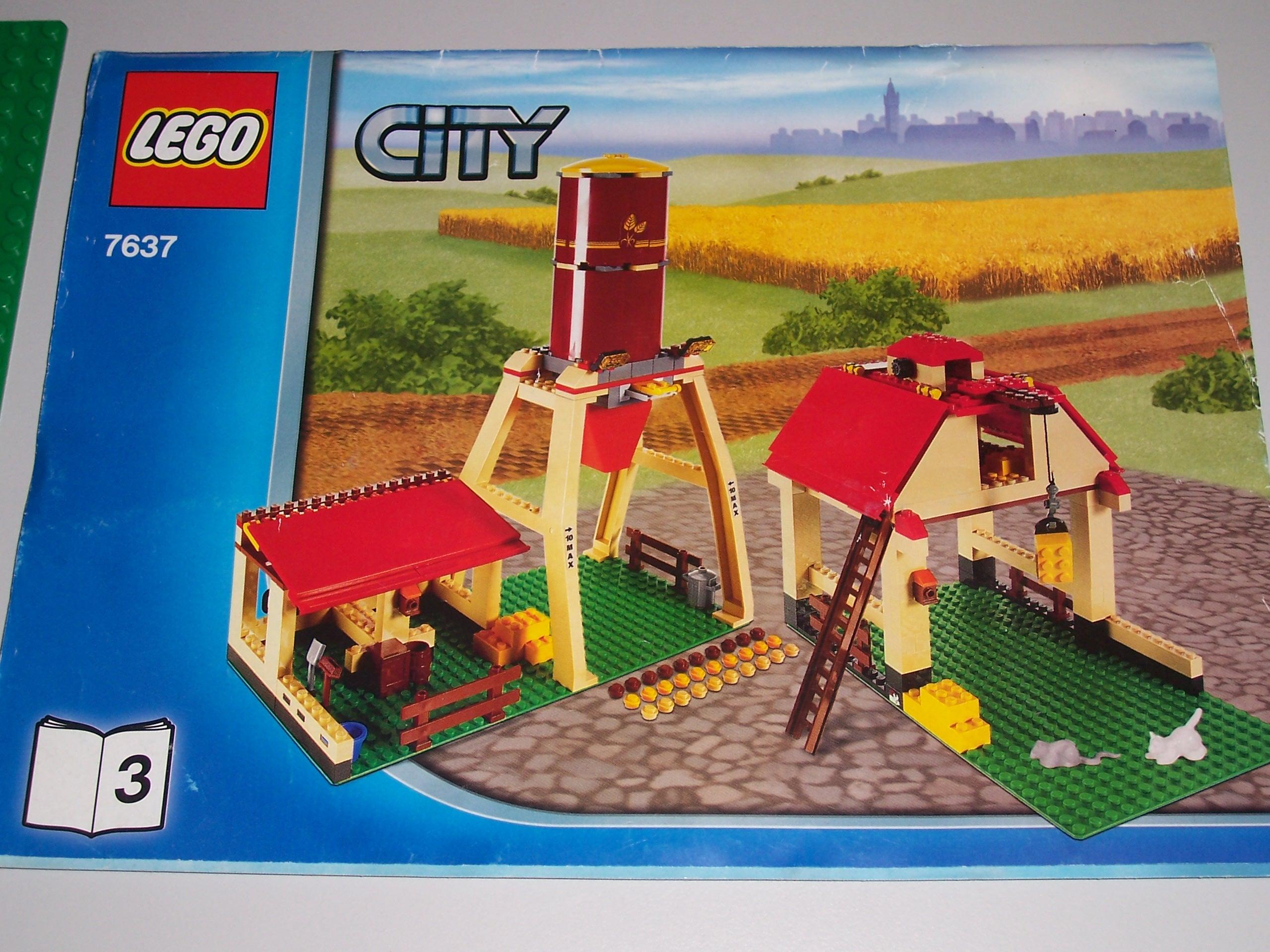 Lego City 7637 Farma Gospodarstwo Rolne Traktor 7092910630