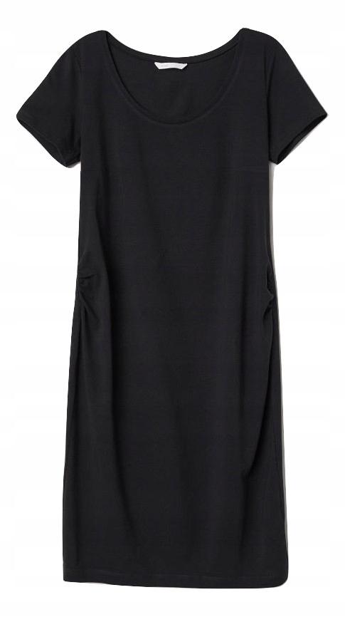 99d5296d02 H M MAMA sukienka ciążowa czarna tuba 40 L - 7583055678 - oficjalne ...