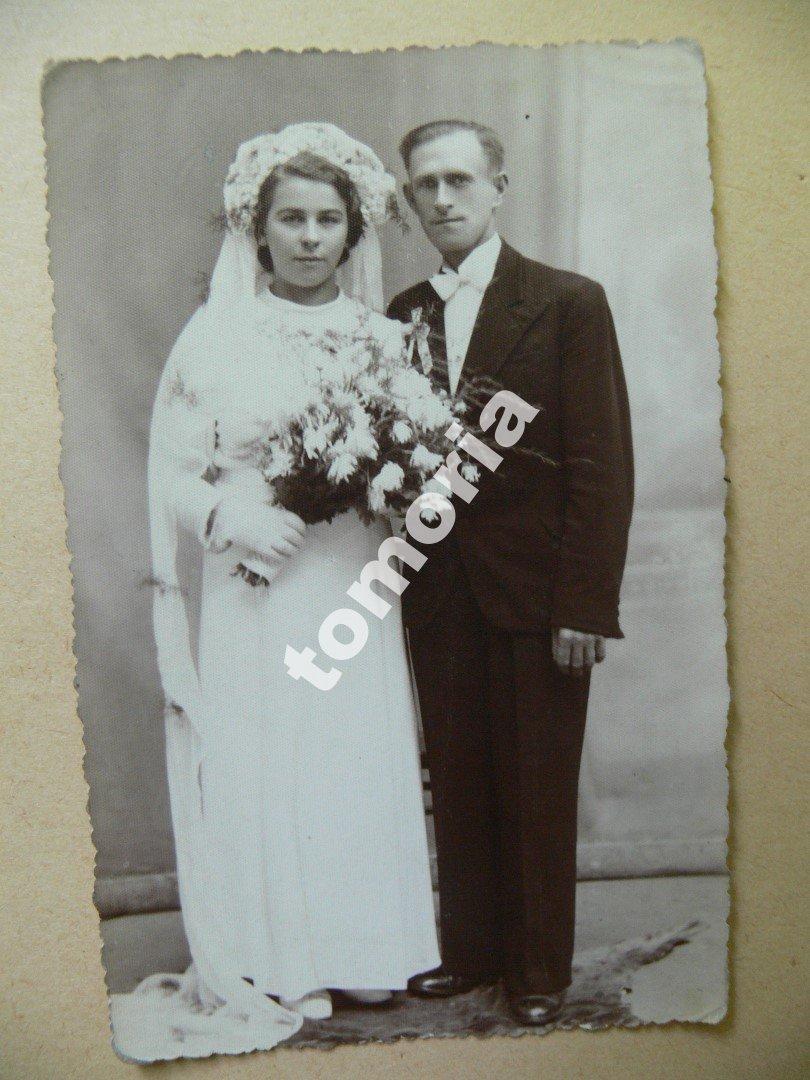 Para ślubne Siedlce 1943 7227463372 Oficjalne Archiwum Allegro