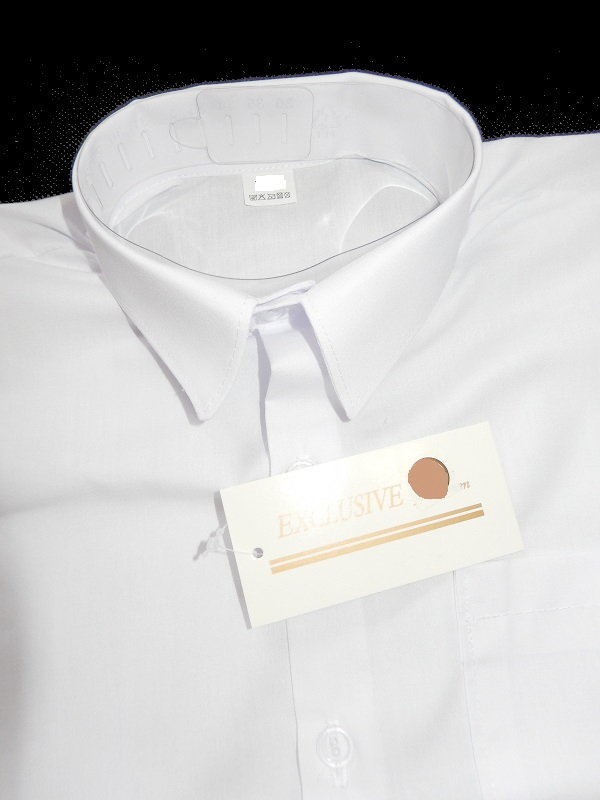 2b9873e87a9a72 Biała koszula WIZYTOWA z krótkim rękawem r.158 - 7343517575 ...