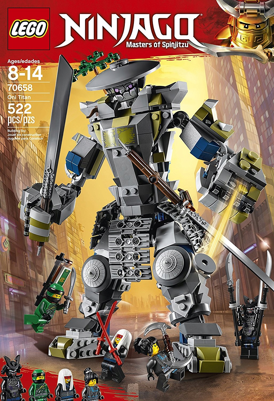 Slawoj7 Klocki Lego Ninjago 70658 Tytan Oni 7698093560 Oficjalne
