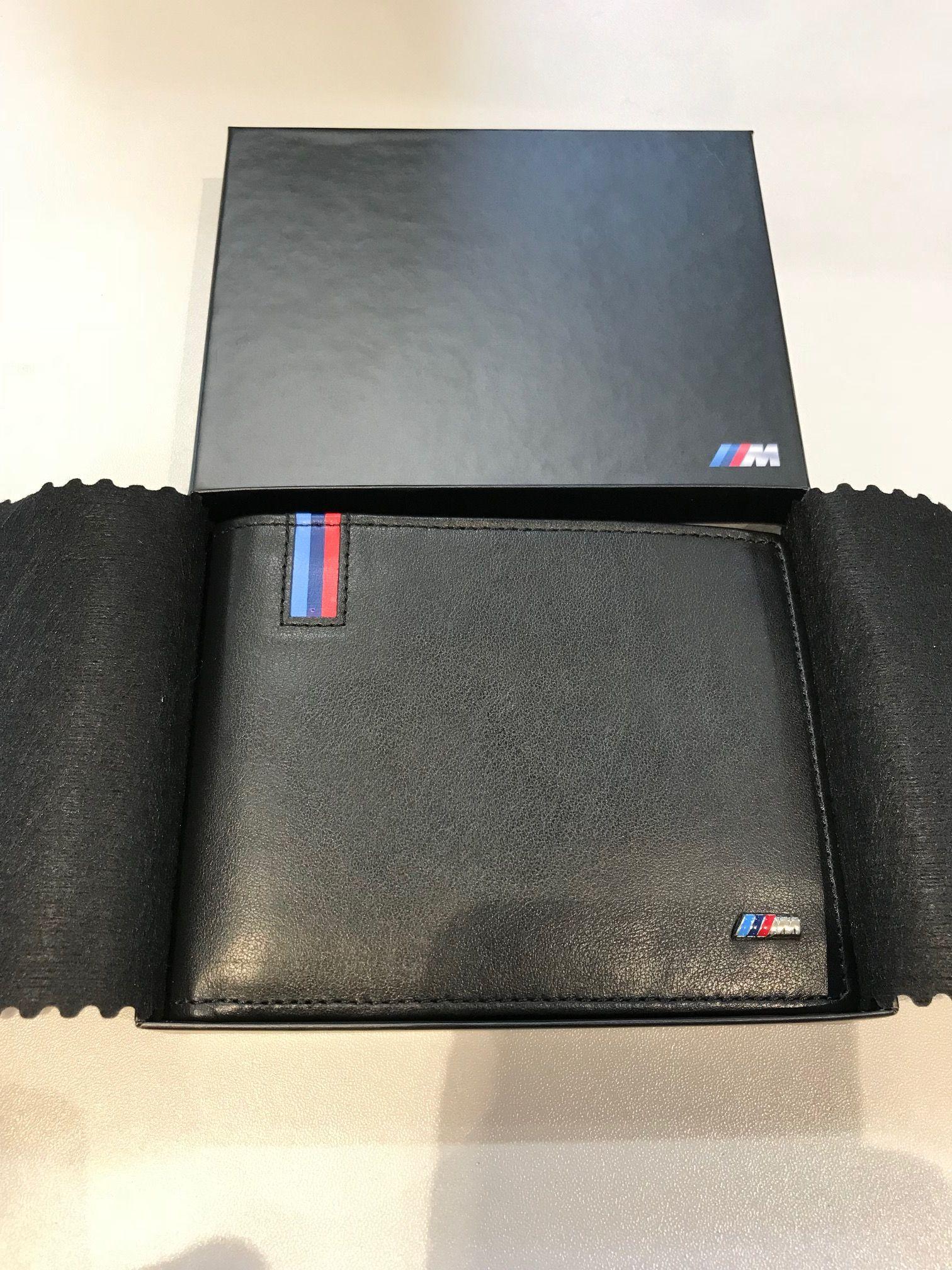 32e659a4635bc Portfel BMW M Męski Nowy Oryginalny - 7411833172 - oficjalne ...