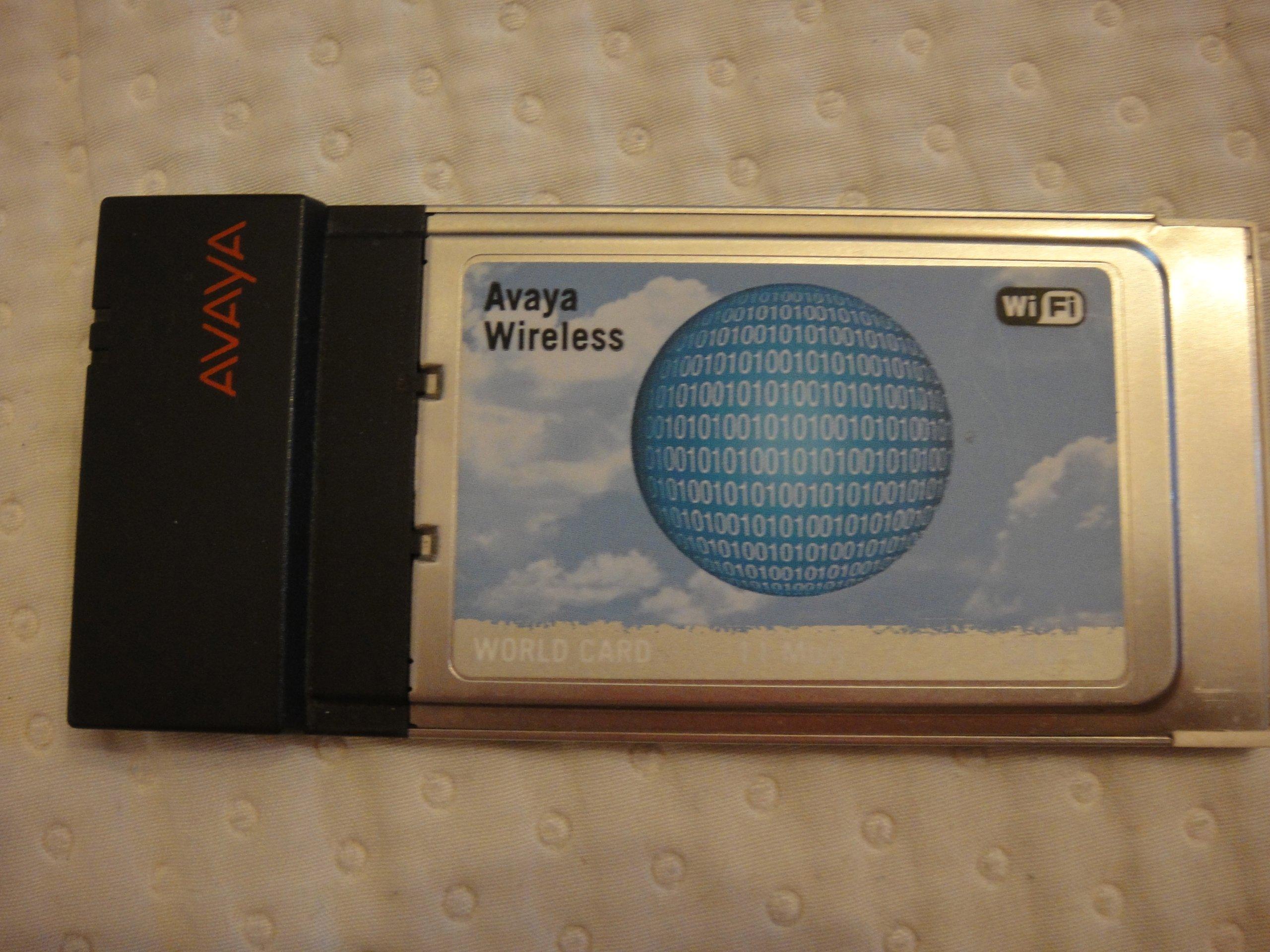 AVAYA WIRELESS WORLD CARD SILVER WINDOWS 8 X64 DRIVER DOWNLOAD