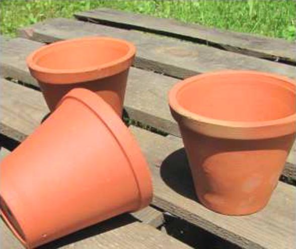 Doniczka Ceramiczna Mała 10cm Osłonka Gliniana 6886410670