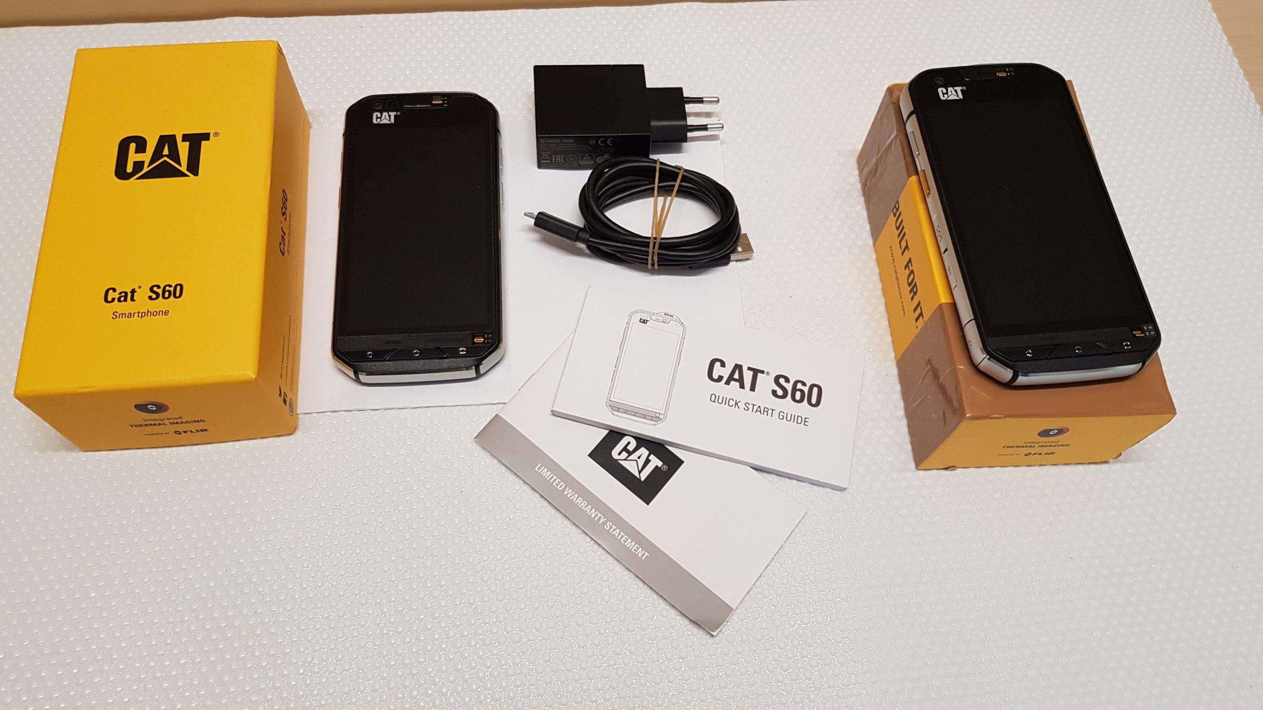 100% jakości zamówienie online delikatne kolory Cat S60 ! Gwarancja! Jak nowy! Idealny! - 7365177997 ...