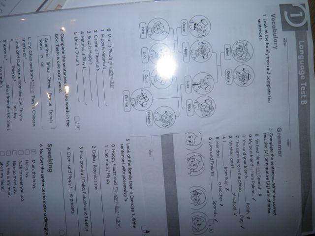 english class a1 chomikuj testy